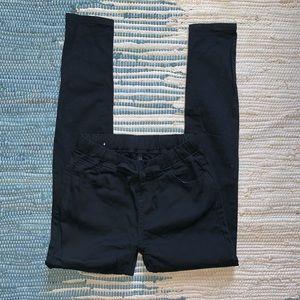American Bazi Jeans - Black destroyed drawstring skinnies